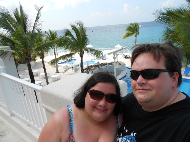This is us on our honeymoon.
