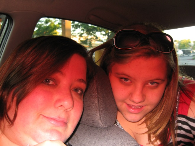 My Radiant Sister and I, luckily she is able to do things I can not.