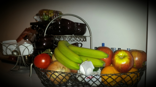Keeping healthy in my site line.